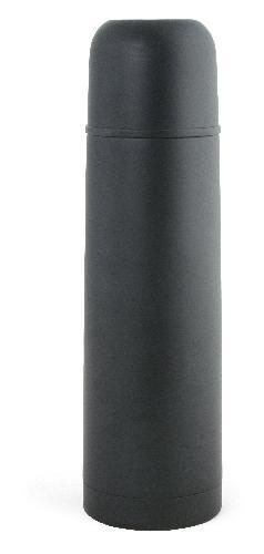 Ståltermos 0,7 L, svart