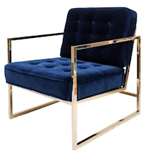 Fiona Chair brass