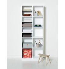 Wood shelving unit golvhylla - 2x5