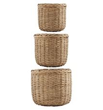 Korg Baskets 3st - Natur
