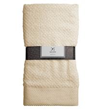 Handduk 100% Bomull Sand 100x50 cm