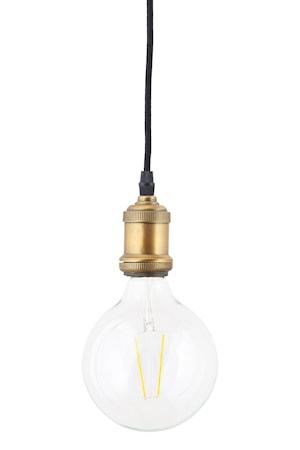 LED Lampa dimbar E27 17,5x12,5 cm - Klar