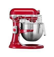 Professional köksmaskin röd 6,9 liter
