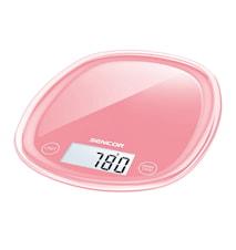 Kjøkkenvekt Pastell Rød 5 kg