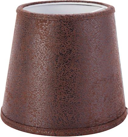PR Home Queen Lampskärm Läder Brun 10cm