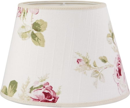 PR Home Oval Lampskärm Ros 30 cm