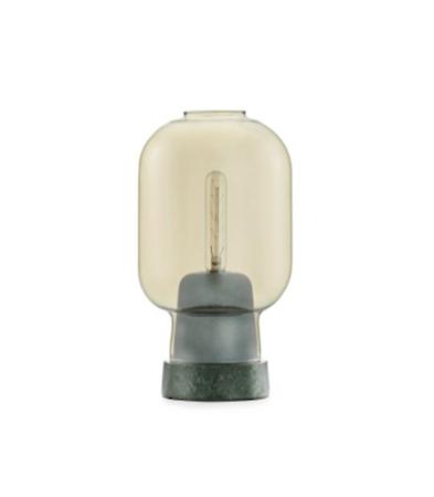Normann Copenhagen Amp pöytävalaisin kulta/vihreä