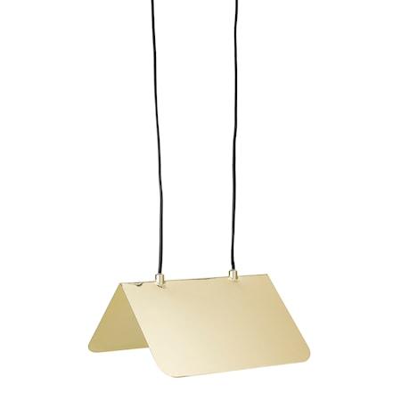 Taklampa Gold Metal