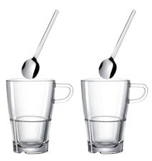 Senso Glas Latte Macchiato 4 delar