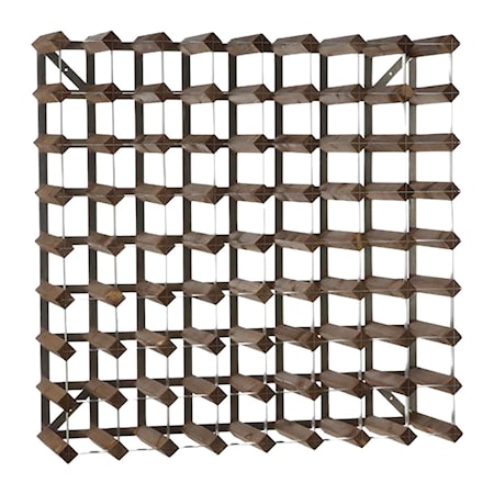 Traditional Wine Racks RTA 72 pullon Koottava Viiniteline