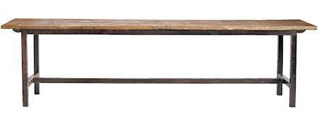 Raw bench wood