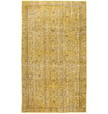 Vintage Rug Yellow