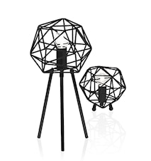 Bordslampa Diamond Svart