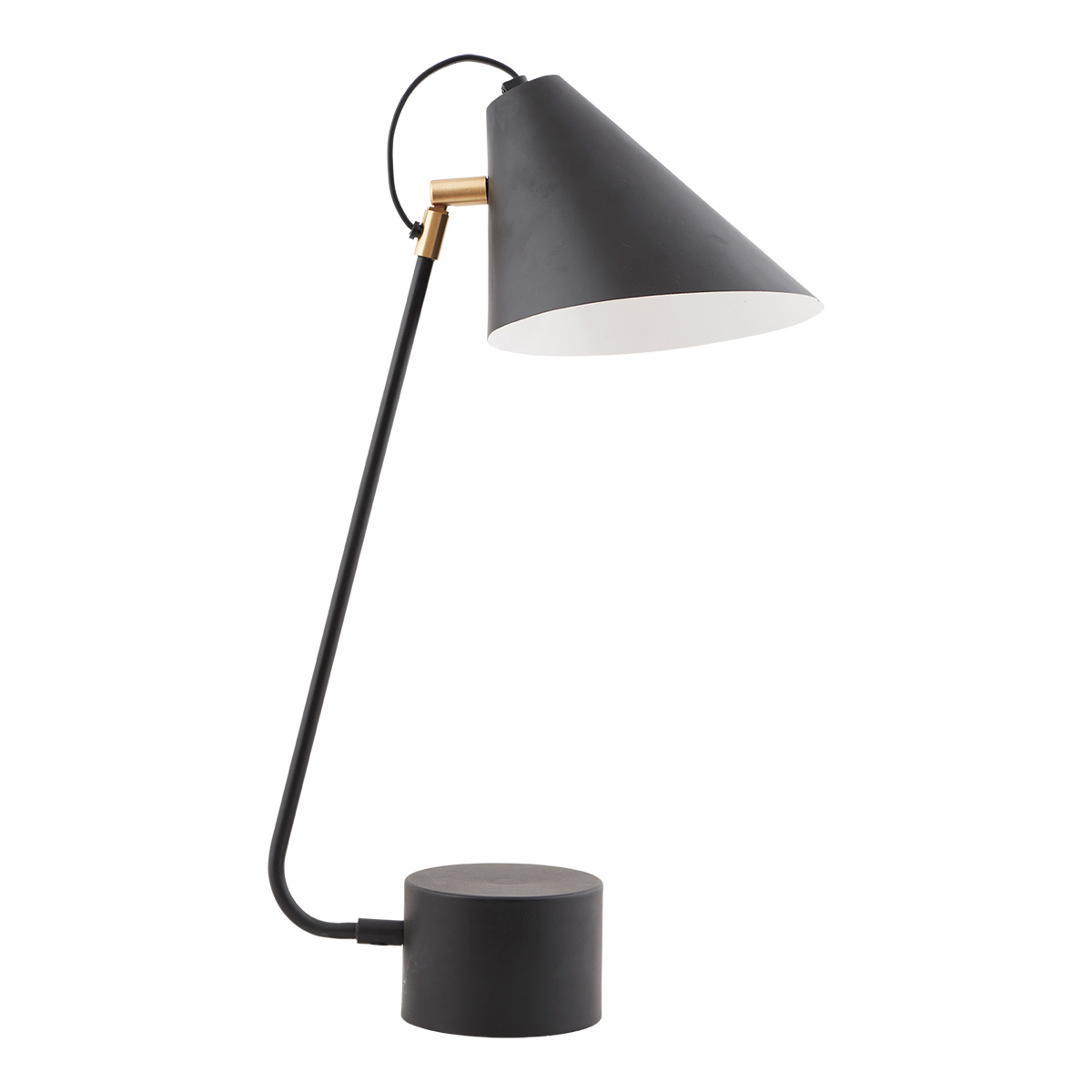 Club Bordslampa Svart/Vit 18-20 cm