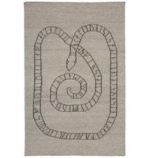 Gripsholm matta – Grå/grå