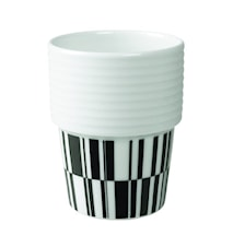 Filippa K Te- & kaffemugg Svart/deco 2-pack