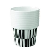Filippa K Te- & kaffekrus Sort/deco 2-pak