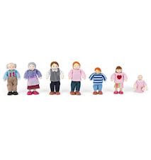 Doll family of 7