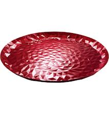 Joy N.3 Bricka Ø 40 cm Röd