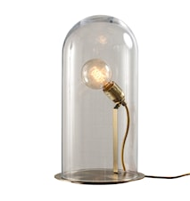 Speak up dome transparent medium bordslampa