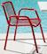 Stitch armchair stol - Röd