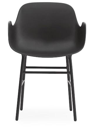 Form karmstol stål
