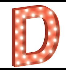 Cirkuslampan Stor - D