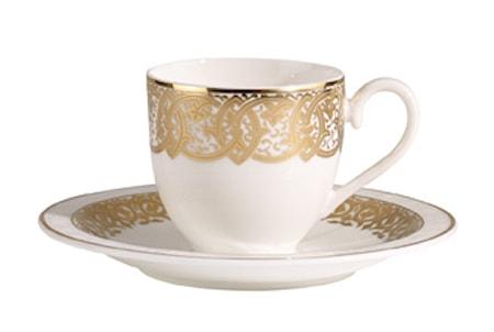 Villeroy & Boch Golden Oasis Espressokuppi&vati 2 osaa