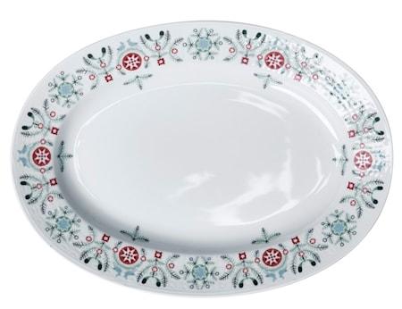 Swedish Grace Winter tallerken oval 32 cm