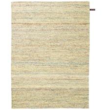 Silk handvävd matta – Flerfärgad