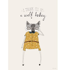 I think I'll be a wolf today A3