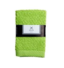 Handduk 100% Bomull Lime 30x30 cm