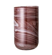 Vas Brown Glass Ø14x25 cm