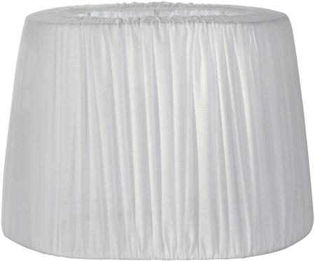 PR Home Omera Veckad Lampskärm Bomull Vit 27 cm