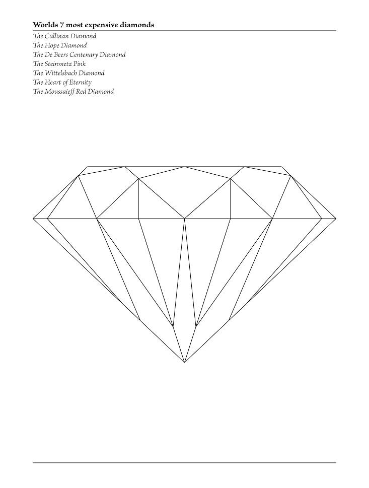 Diamant poster