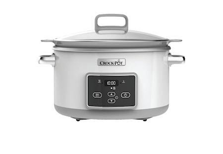 Slowcooker 5,0l DuraCeramic, timer