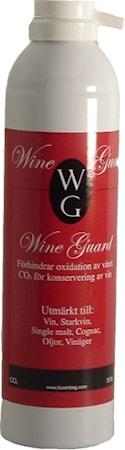 Wine guard- CO2 gas för konservering av öppnade vinflaskor