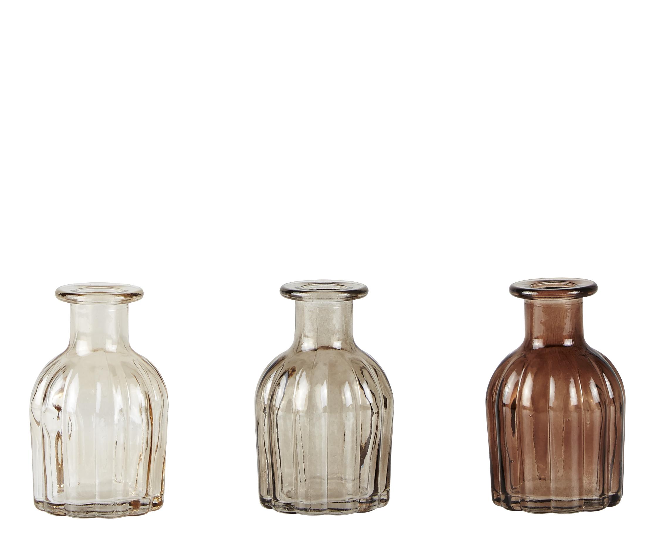 Flaska Brun 9,5 cm