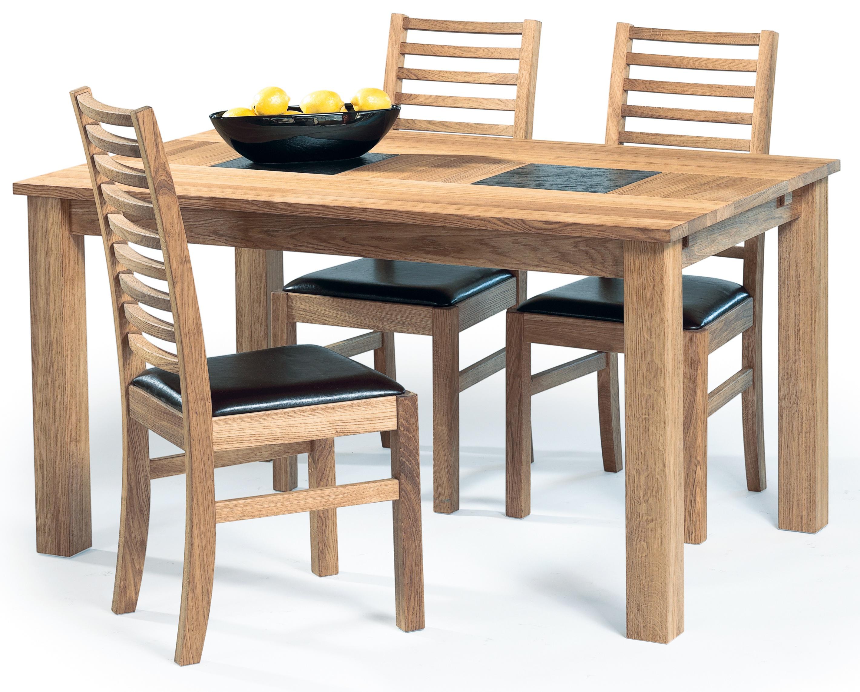 Arizona matbord + 4 st stolar