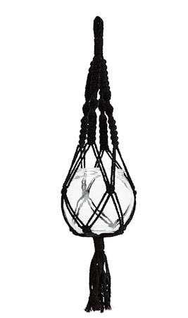 Madam Stoltz Ruukunpidike Ø 15 cm – Musta