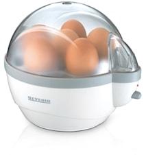 Eggekoker Med On/Off-knapp Hvit 6 egg