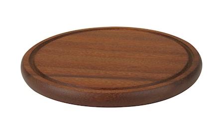 Rund Serveringsbricka Trä Ø 30 cm
