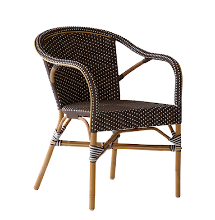 Sika Design Madeleine karmstol - Brun