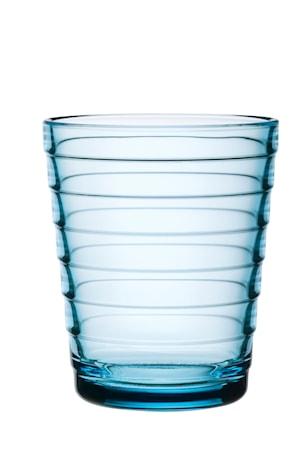 Aino Aalto glass 22 cl lyseblå 2-pakk