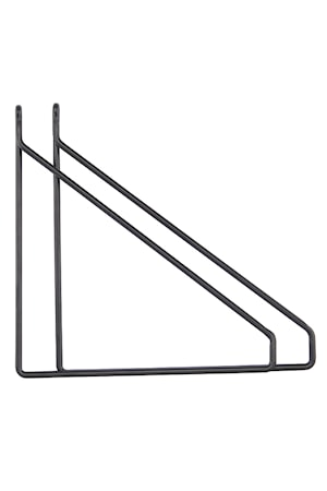 Apart Konsol 2-pack Svart 25,5x26 cm