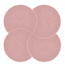 Grytunderlägg Rosa 18 cm