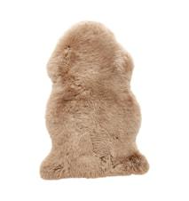 Fårskinn korthårig 94x61 cm - Brun