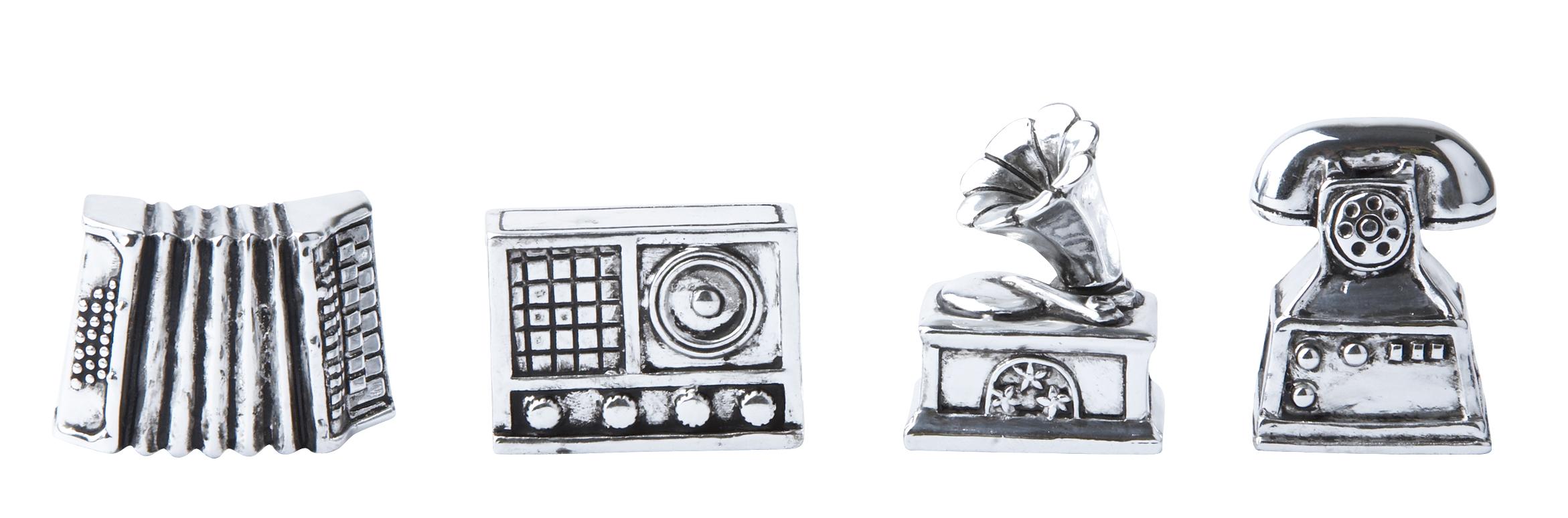 Figur Silver 1,5x4 cm