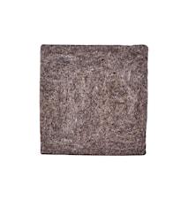 Felt Square sittdyna 35 cm - Ljusbrun