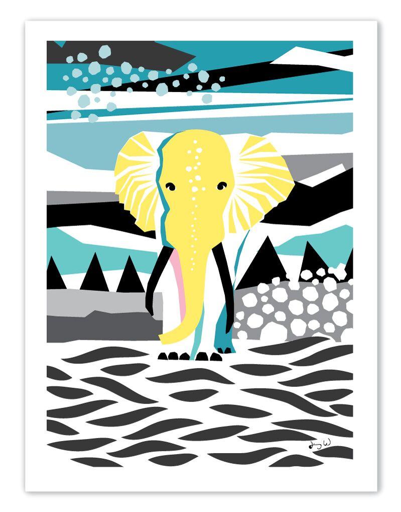 Elefanten poster